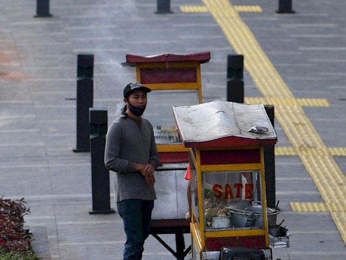 FOTO: Rencana UMKM Berjualan di Trotoar Ibu Kota