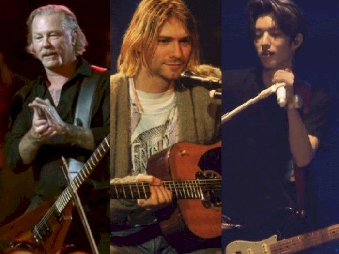 Dari Metal sampai Kpop, Ini 6 Vokalis Band Kharismatik yang Tampil dengan Gitar