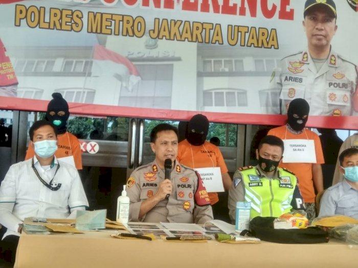 54 Kali Begal Truk di Tol Jakarta, Kelompok Ini Diringkus Polres Jakut