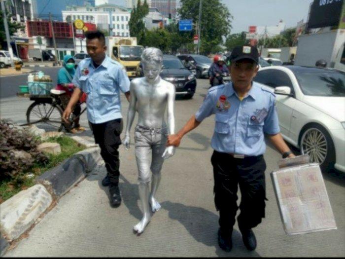 Maraknya Bocah Manusia Silver di Jalanan, KPAI Minta Kerjasama Semua Pihak