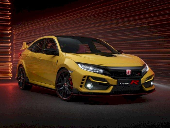 Mobil Honda Civic Type R 2021 Limited Edition Dijual Seharga Rp600 Jutaan, Tertarik?