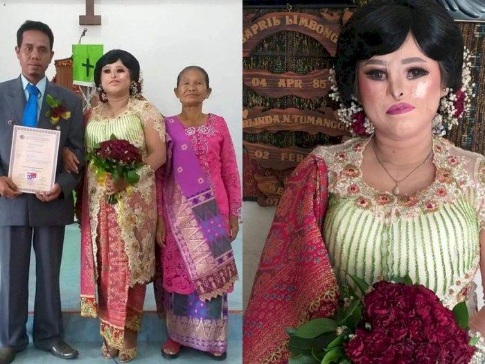 Kisah Cinta Pasangan di Samosir yang Viral di Media Sosial, Bukti Cinta Tak Pandang Fisik