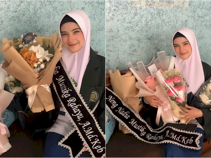 Nadya Mustika Lulus Kuliah, Keberadaan Rizky DA Dipertanyakan Netizen