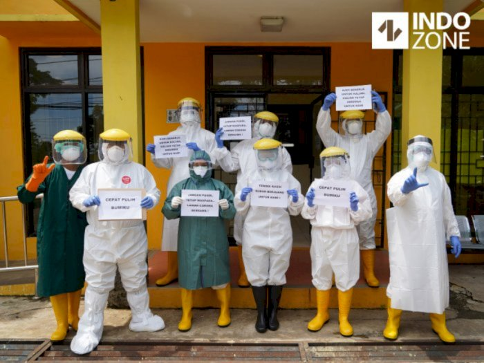 Kasus Corona Meroket, Pemprov DKI Jakarta Rekrut Ribuan Tenaga Medis
