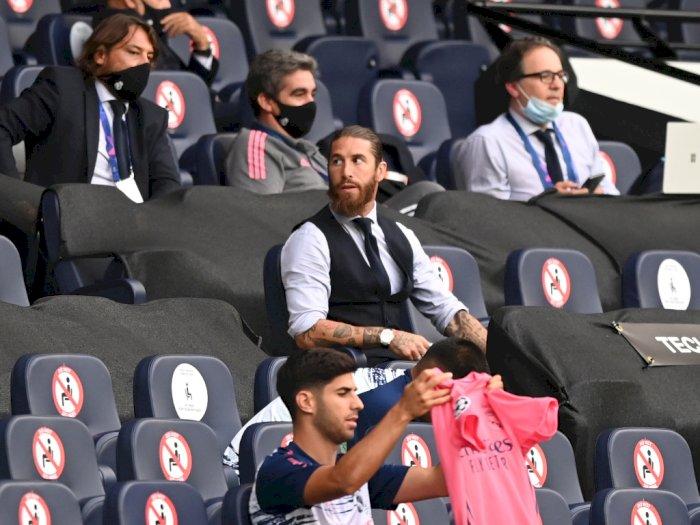 Sergio Ramos Ingin Messi Tetap di Barcelona, Kenapa?