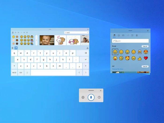Windows 10 Dapatkan Touch Keyboard Baru dengan Sejumlah Fitur Lainnya!