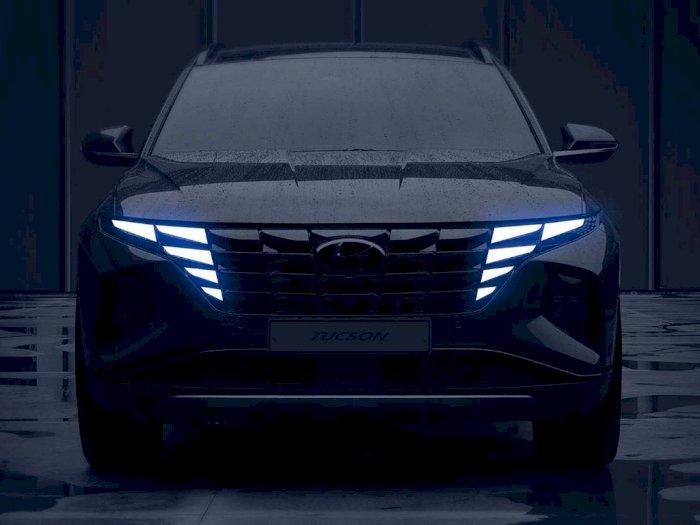 Hyundai Tucson 2021 Hadir dengan Lampu Depan Unik dan Interior Canggih
