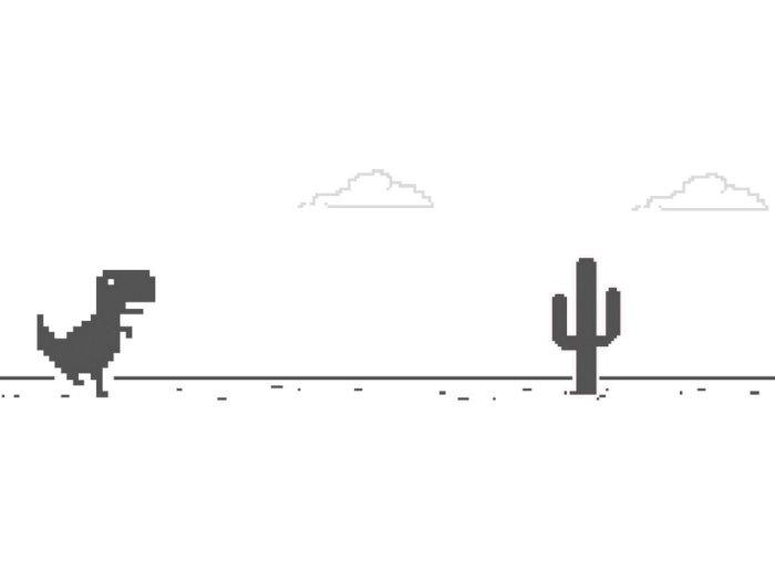 Asal Usul Game Dinosaurus Saat Google Chrome Kehilangan Jaringan Internet