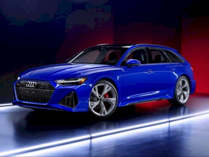 Audi RS6 Avant 2021 RS Tribute Edition Tampil Keren dengan Warna Nogaro Blue