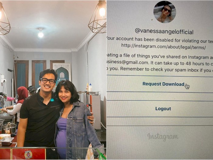 Akun Instagram Vanessa Angel Hilang, Bibi Ardiansyah: Sedih Banget, di Situ Kami Cari Uang