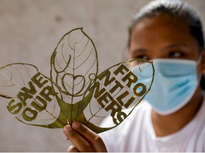 Kena PHK Gegara Corona, Wanita Filipina Ini Kembangkan Usaha Seni Daun, Kreatif!
