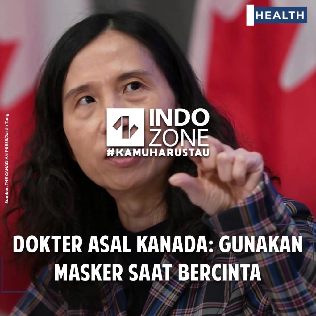 Dokter Asal Kanada: Gunakan Masker Saat Bercinta