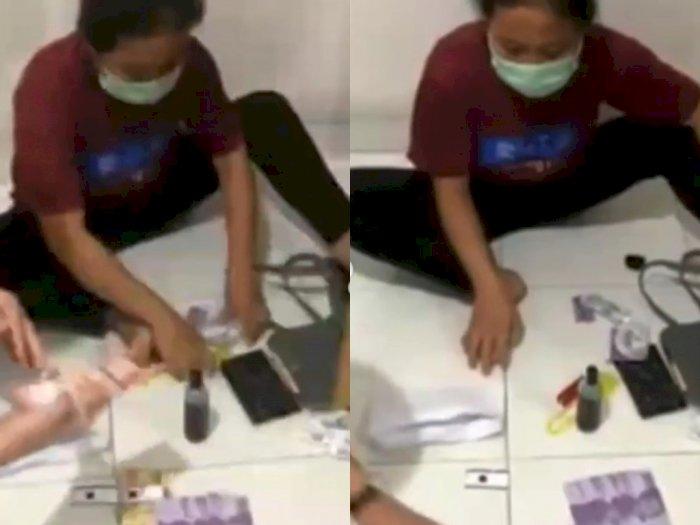 Heboh Pembantu Rumah Tangga Diduga Ketahuan Curi Barang Majikan, Ekspresinya Bikin Gemes