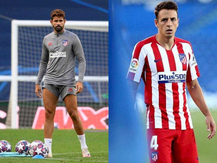 Atletico Madrid:  Diego Costa dan Santiago Arias Positif Covid-19