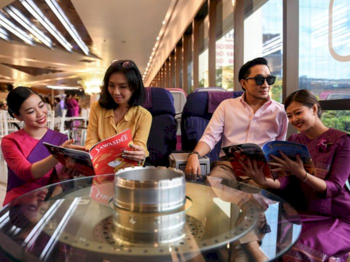 Thai Airways Buka Restoran Buat Pelanggan yang Kangen Makanan di Pesawat
