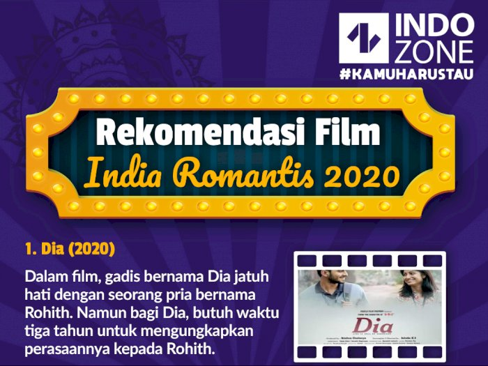Rekomendasi Film India Romantis Terbaru 2020