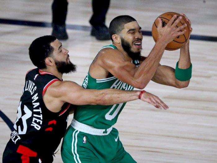 FOTO: Toronto Raptors Menang Atas Boston Celtics 104-103