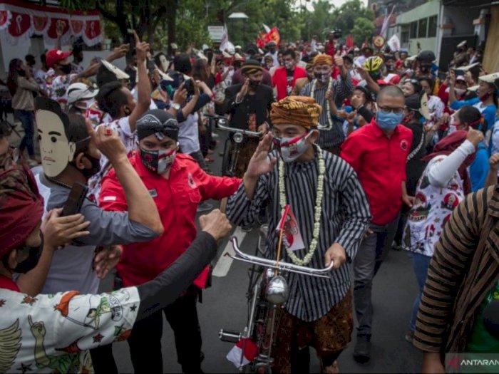 Calon Bupati Karawang Arak-arakan Ditegur Mendagri Tito, Gibran Anak Jokowi Kok Tidak?