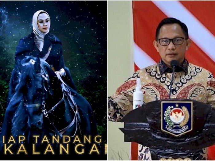 Arak-arakan Daftar Pilkada, Bupati Karawang dr Cellica 'Disemprit' Mendagri Tito
