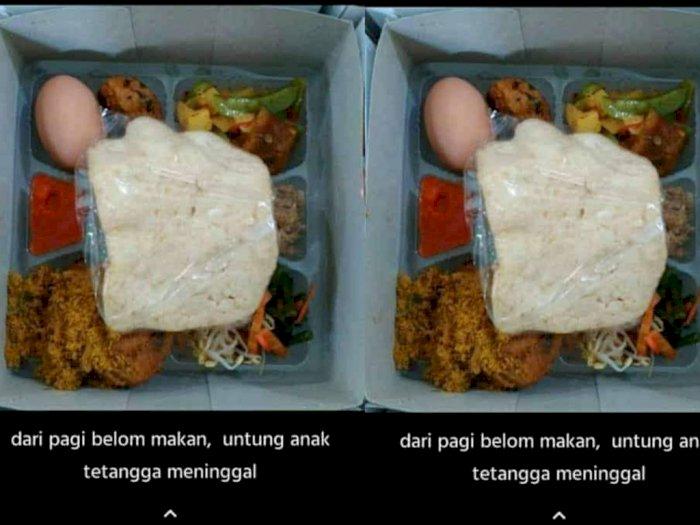 Viral Curhatan Netizen Bersyukur Akhirnya Bisa Makan: Untung Ada Anak Tetangga Meninggal