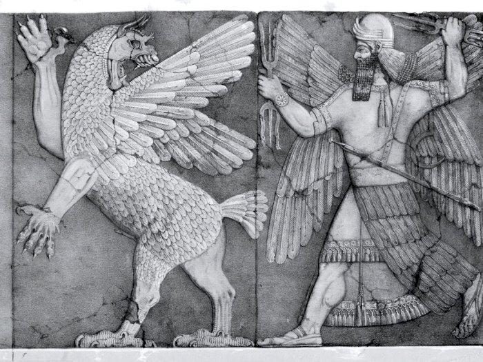 Mitologi Burung Anzu, Gabungan Elang dan Singa yang Ciptakan Badai