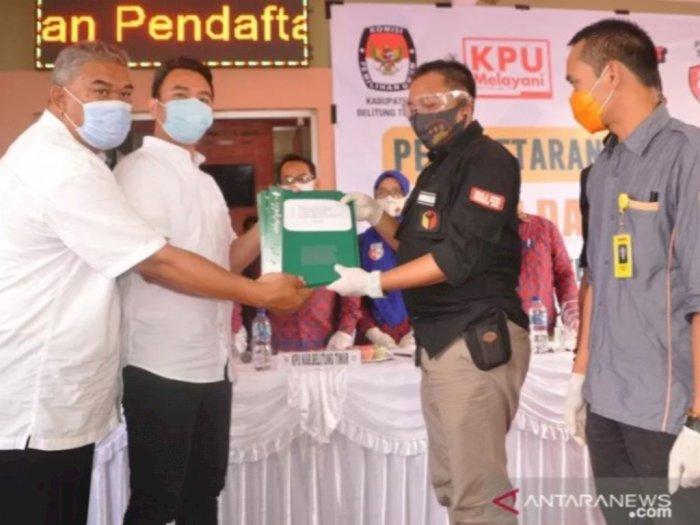 Diusung Tujuh Partai, Anak Yusril Ihza Mahendra Maju di Pilkada Belitung Timur