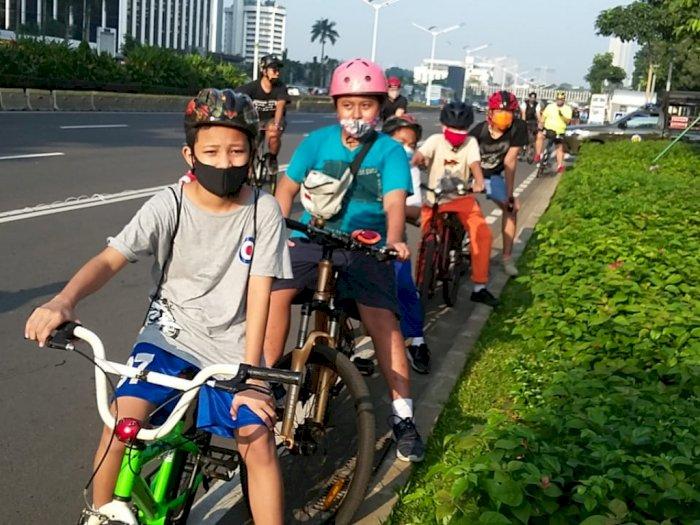 Hari Ini, Pemprov DKI Siapkan 10 Kawasan Khusus Pesepeda