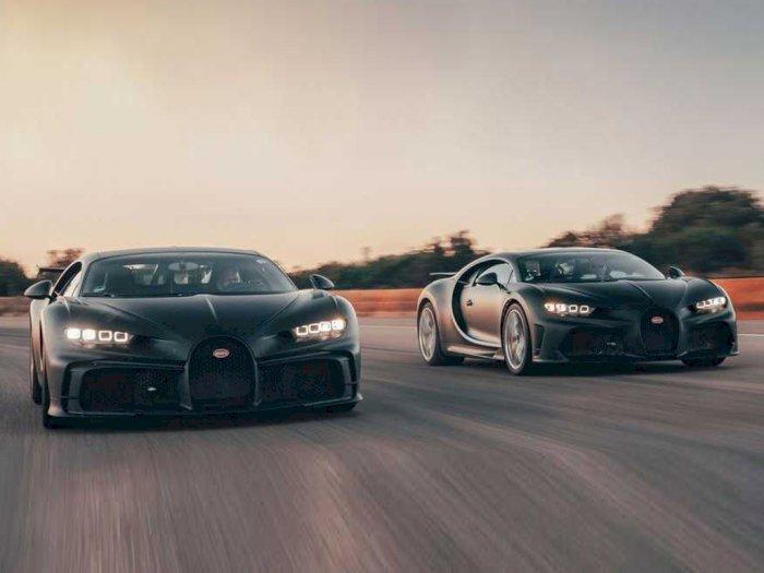 Penampakan Bugatti Chiron Super Sport 300+ dan Pur Sport Saat Melaju Bersama