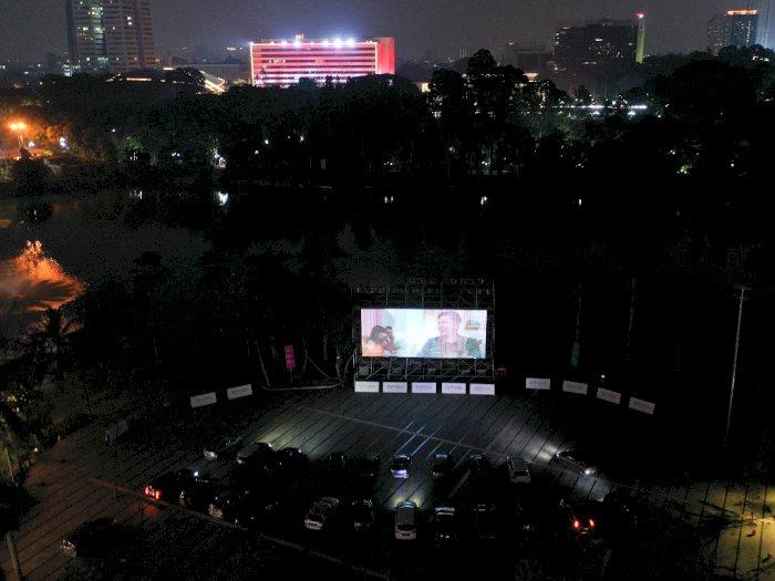 FOTO: Cinema Drive-In di Jakarta