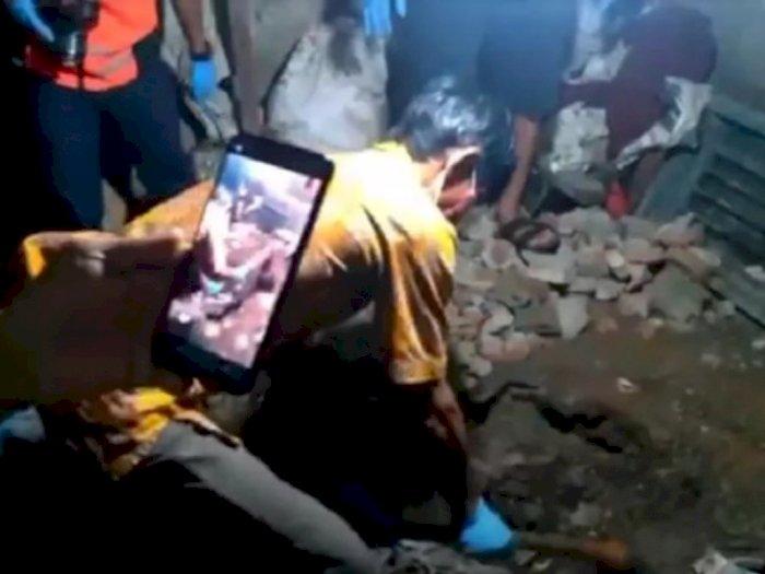 Istri Hilang 40 Hari, Ternyata Dicor Suami di Bawah Kolong Tempat Tidur Usai Dibunuh