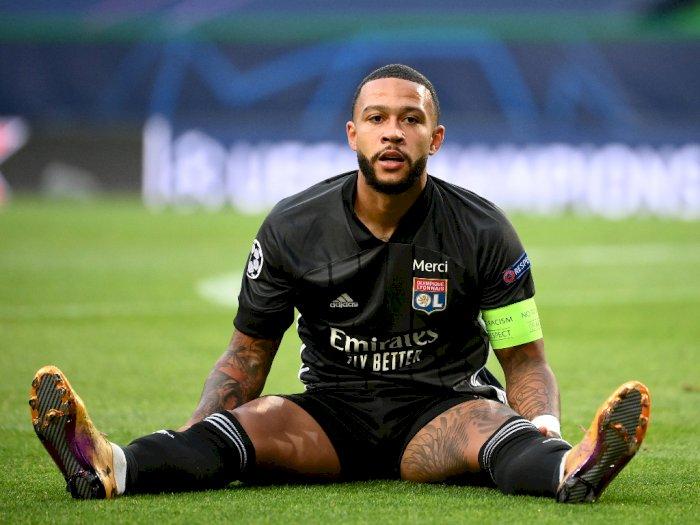 Selain Barcelona, Roma Juga Disebut 'Naksir' Memphis Depay