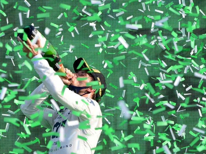 FOTO: AlphaTauri Pierre Gasly Memenangkan F1 Grand Prix Italia 2020