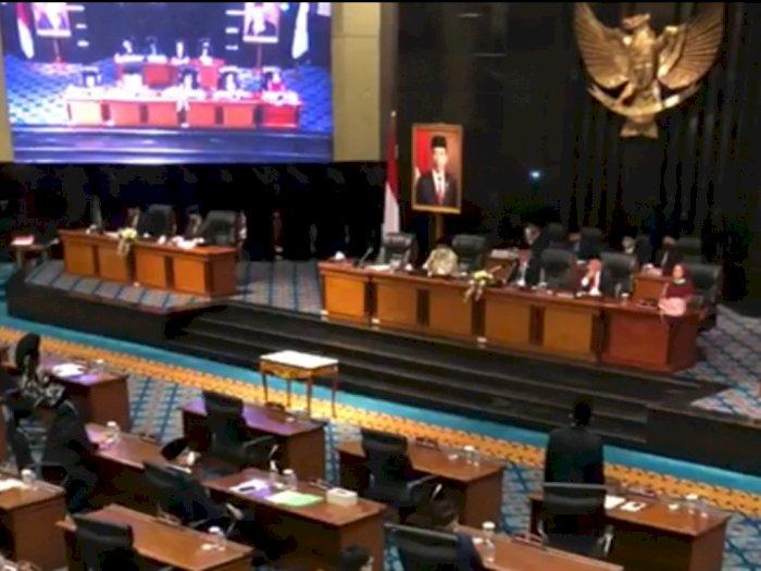 Tolak Laporan Pertanggungjawaban APBD 2019 Anies, 4 Fraksi DPRD DKI Walk Out