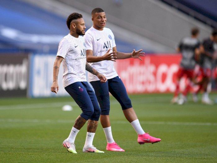 Direktur PSG: Neymar dan Mbappe Pemain Terbaik Dunia Setelah Ronaldo dan Messi