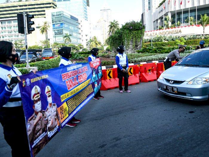 Pemprov DKI Jakarta Klaim Ganjil Genap Berhasil Turunkan Mobilitas Warga di PSBB Transisi