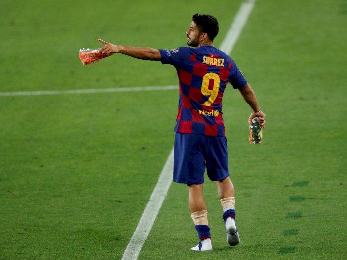 Juventus dan Barcelona Negosiasikan Biaya Transfer Suarez