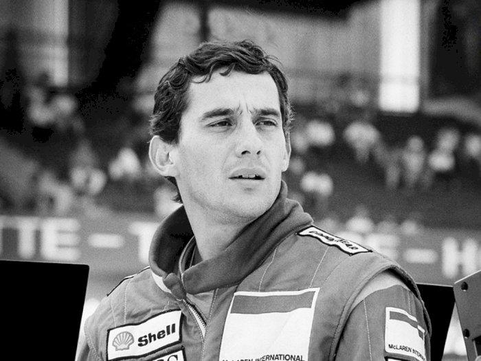 Netflix Siapkan Serial Untuk Pembalap Ayrton Senna