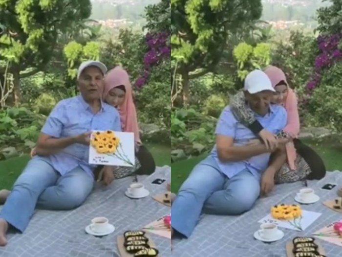 Terpaut Usia 46 Tahun, Ayah Zaskia Sungkar Pamer Kemesraan dengan Istri Cantiknya