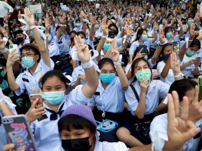 Pelajar Thailand Demo Karena Sistem Pendidikan Yang Dinilai Usang