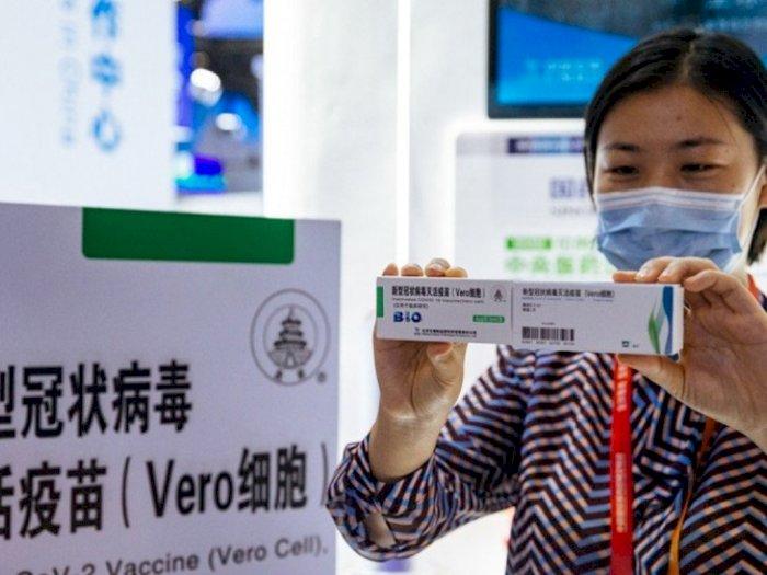 Untuk Pertama Kalinya, Vaksin Covid-19 Dipajang di Pameran, Warga Padati Lokasi Stan