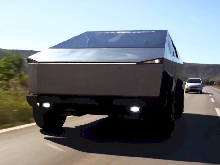 Perusahaan Bosnia Ini Sulap Mobil Ford F-150 Raptor Jadi Tesla Cybertruck!