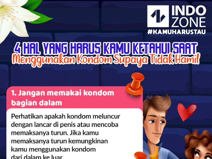 Hal yang Harus Kamu Ketahui saat Menggunakan Kondom Supaya Tidak Hamil
