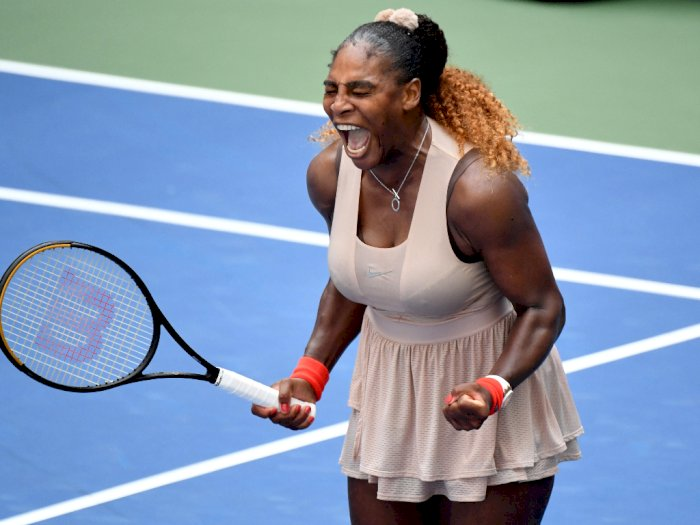 FOTO: Serena Williams Lolos ke Perempat Final US Open 2020