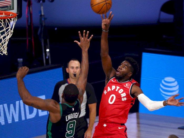 FOTO: Boston Celtics Menang 111-89 Melawan Toronto Raptors