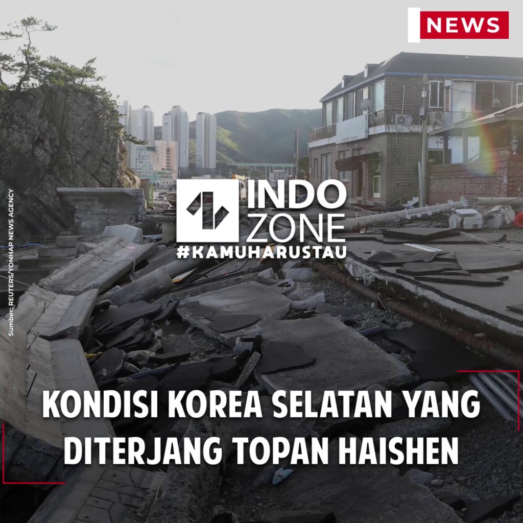 Kondisi Korea Selatan yang Diterjang Topan Haishen
