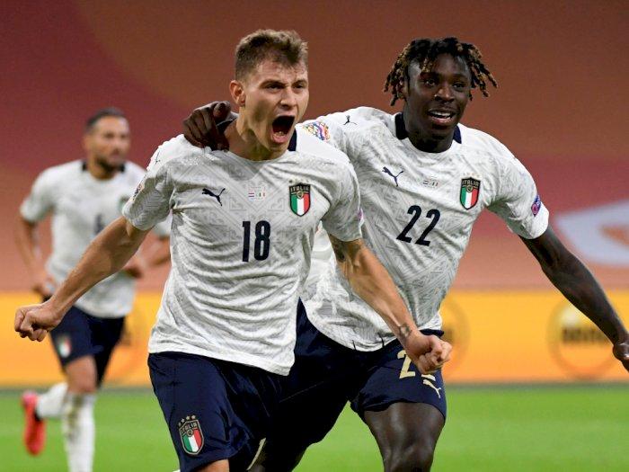 FOTO: UEFA Nations League: Belanda 0-1 Italia