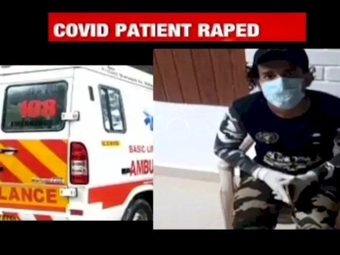 Biadab! Pasien Covid-19 Diperkosa Sopir Ambulans saat Perjalanan ke Rumah Sakit