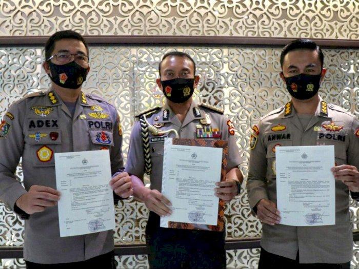 Kapolri Beri Penghargaan kepada 3 Kombes Terkait Wilayah Bebas Korupsi