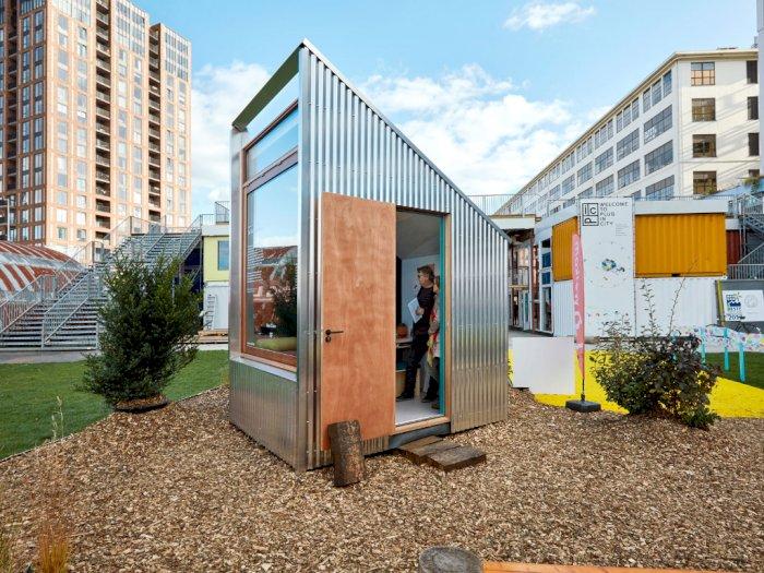 The Tiny Offices, Kantor Mungil di Belanda yang Cuma Muat 1 Orang