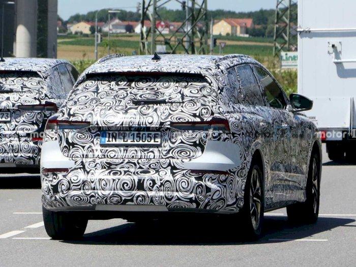 Mobil Audi Q4 E-Tron 2021 Tertangkap Kamera, Hadir dengan Prototype Baru?